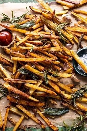 Oven Baked Tuscan Fries | halfbakedharvest.com