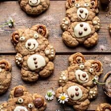 Sweet and Salty Teddy Bear Snickerdoodles.