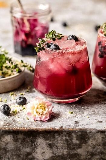 Blueberry Lemon Thyme Smash.