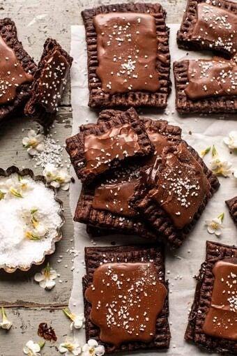 Homemade Chocolate Fudge Pop Tarts | halfbakedharvest.com