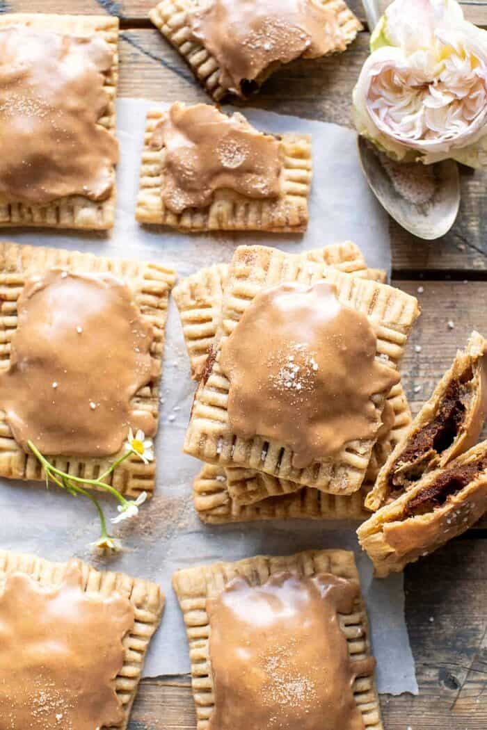 Homemade Frosted Brown Sugar Cinnamon Pop Tarts | halfbakedharvest.com
