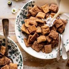 Homemade Cinnamon Toast Crunch.