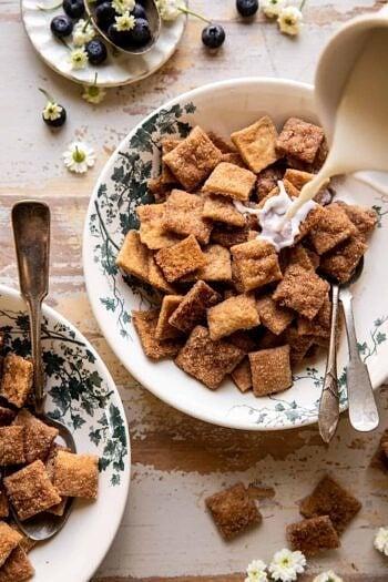 Homemade Cinnamon Toast Crunch.