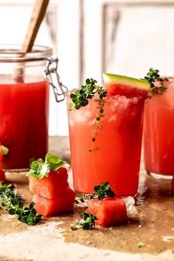 Pink Vodka Watermelon Lemonade.