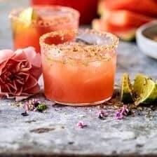 Watermelon Rosè Paloma | halfbakedharvest.com