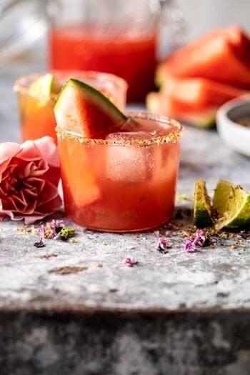 Watermelon Rosè Paloma.