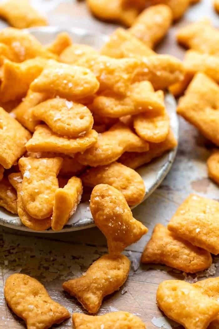 side angled photo of Homemade Goldfish