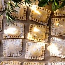 Browned Garlic Butter Creamed Corn Cheese Ravioli | halfbakedharvest.com