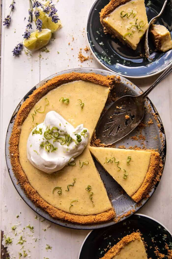 Double Stuffed Vanilla Key Lime Pie | halfbakedharvest.com
