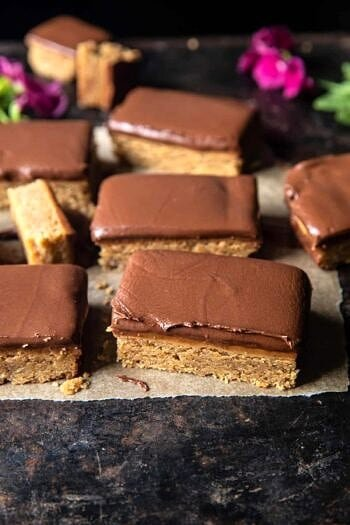 Lunchroom Chocolate Peanut Butter Bars.