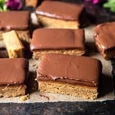 Lunchroom Chocolate Peanut Butter Bars   halfbakedharvest.com