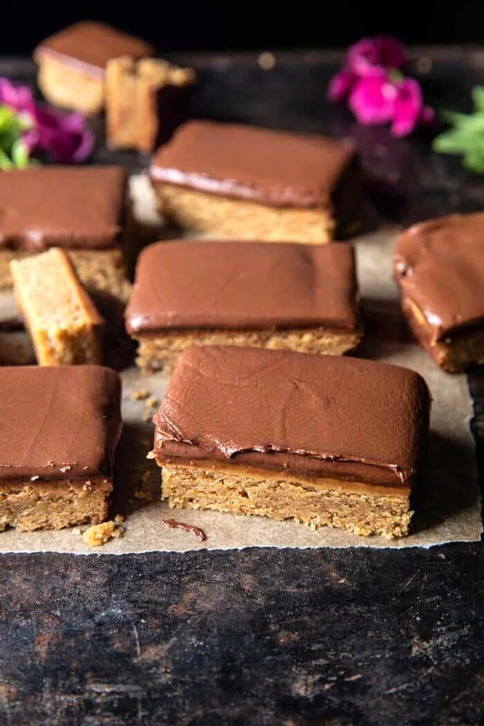 Lunchroom Chocolate Peanut Butter Bars.