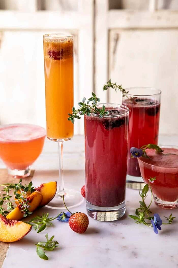 Summer Bellinis 3 Ways.