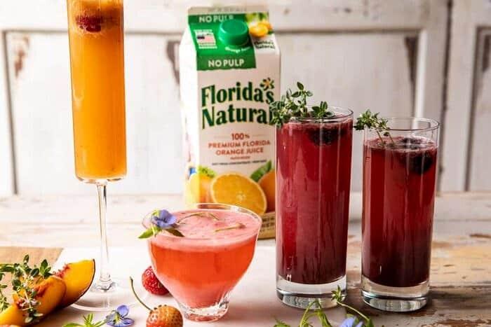 Summer Bellinis 3 Ways | halfbakedharvest.com