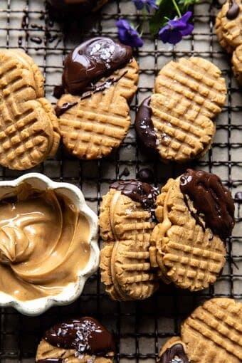 Healthier Homemade Nutter Butter Cookies | halfbakedharvest.com
