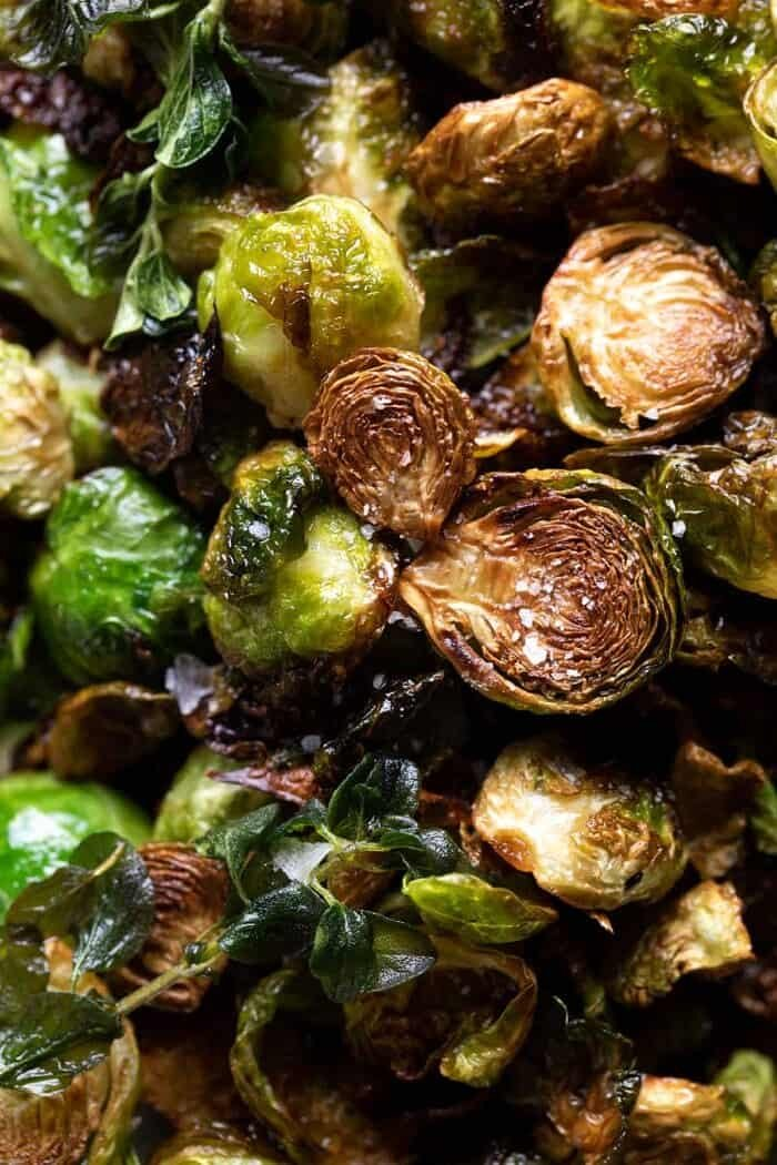 prep photo of Brown Butter Brussels Sprouts
