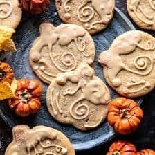 Glazed Brown Sugar Maple Cookies | halfbakedharvest.com