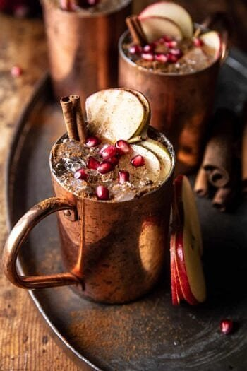 Ginger Apple Moscow Mule.
