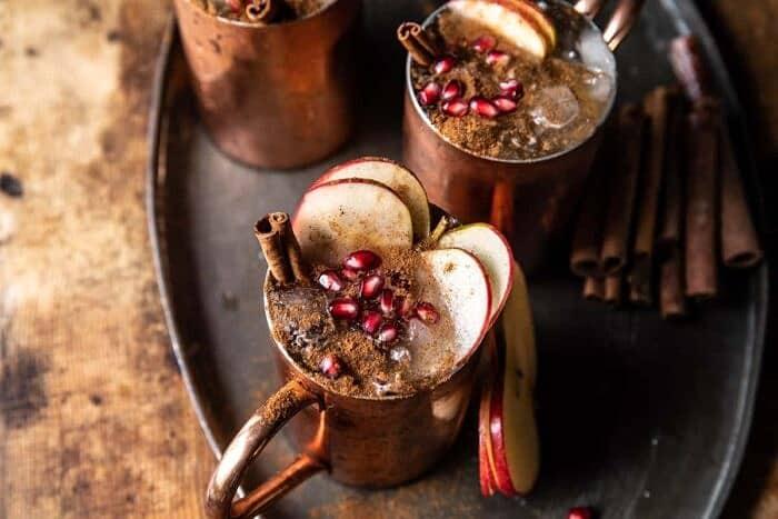 Ginger Apple Moscow Mule | halfbakedharvest.com