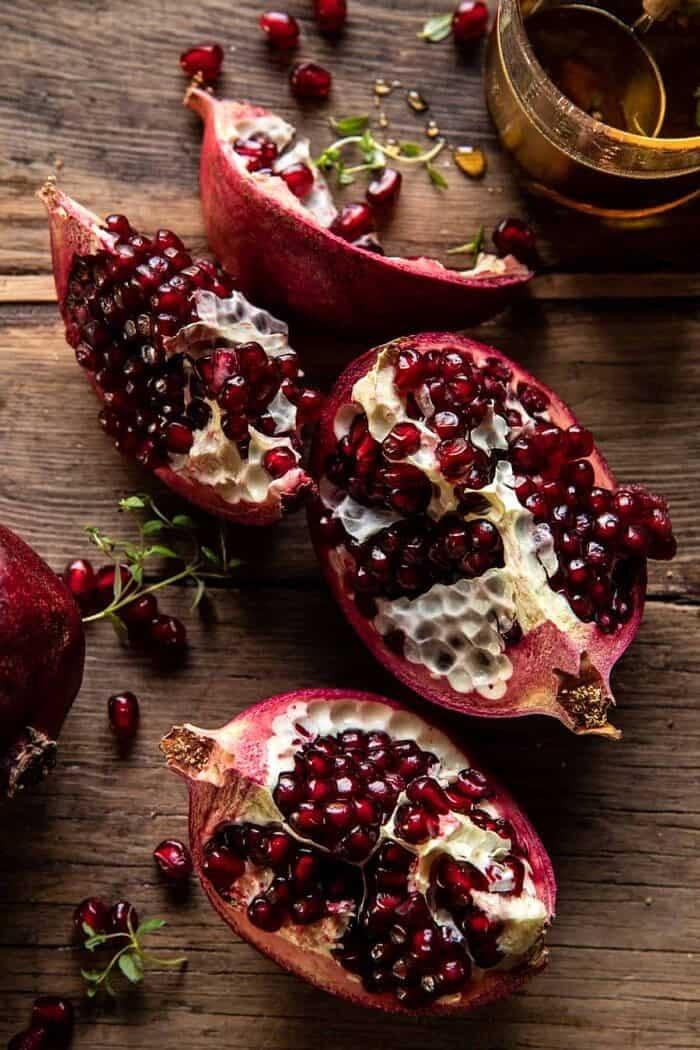 prep photo of pomegranate