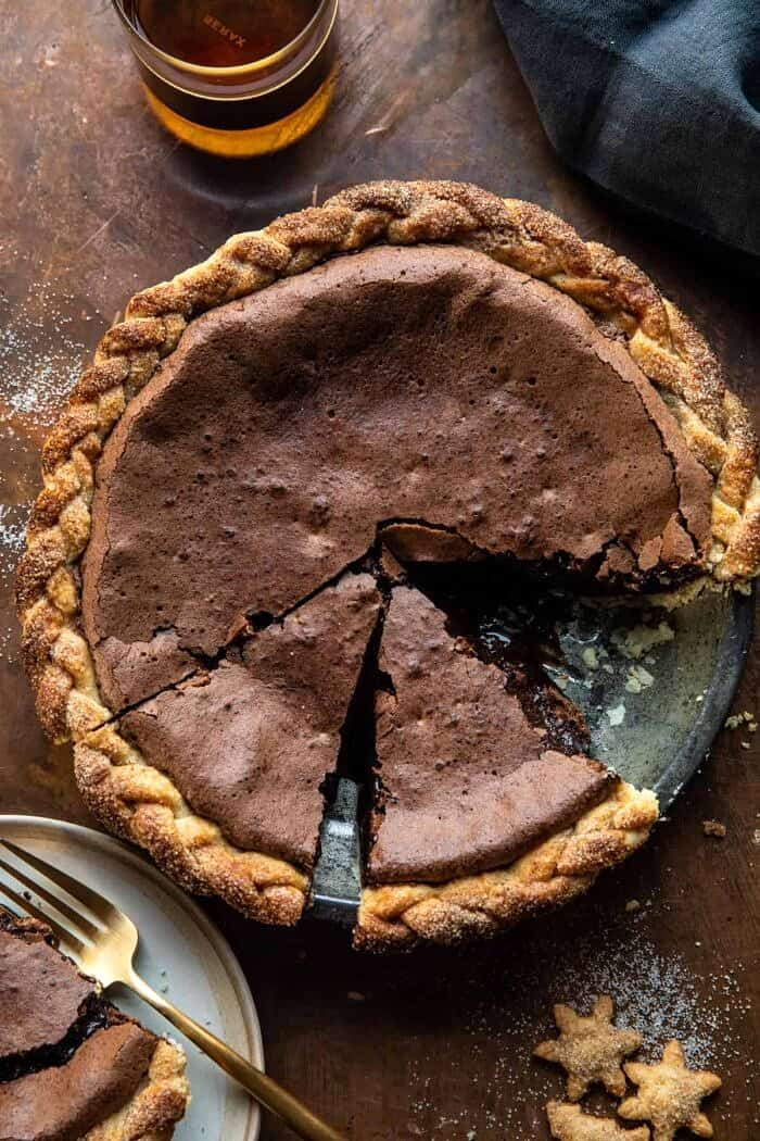 Molten Chocolate Crackle Pie | halfbakedharvest.com