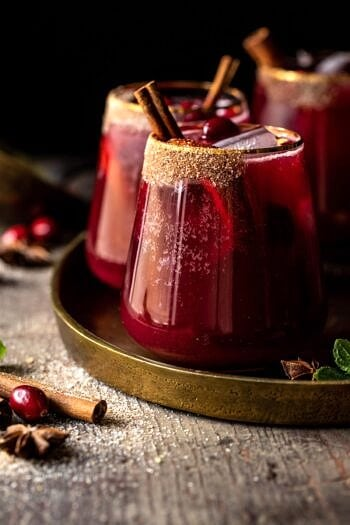 Spiced Cranberry Punch.