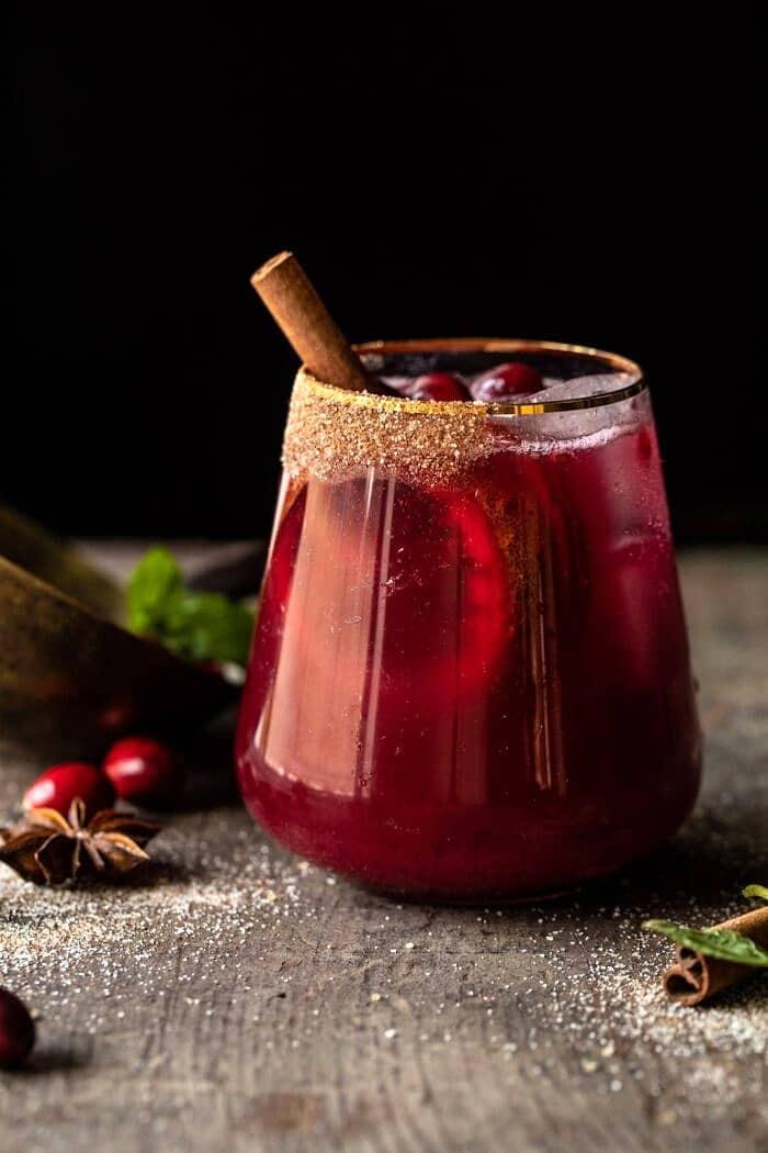 Spiced Cranberry Punch | halfbakedharvest.com