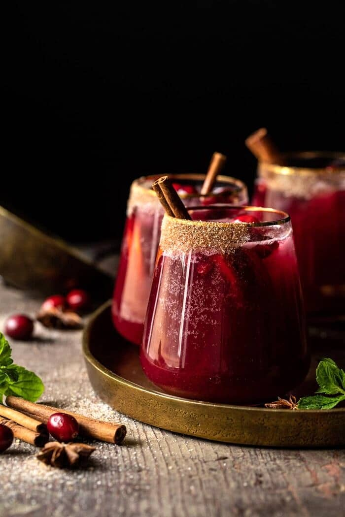 Spiced Cranberry Punch | halfbakedharvest.com