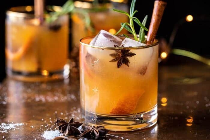 Spiced Honey Bourbon Old Fashioned | halfbakedharvest.com