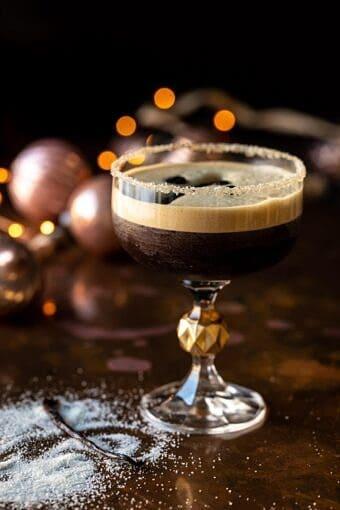 Vanilla Espresso Martini | halfbakedharvets.com