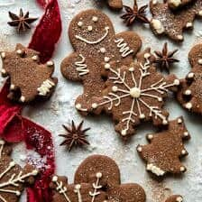 Chai Gingerbread Cookies.
