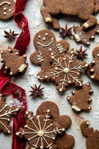 Chai Gingerbread Cookies.