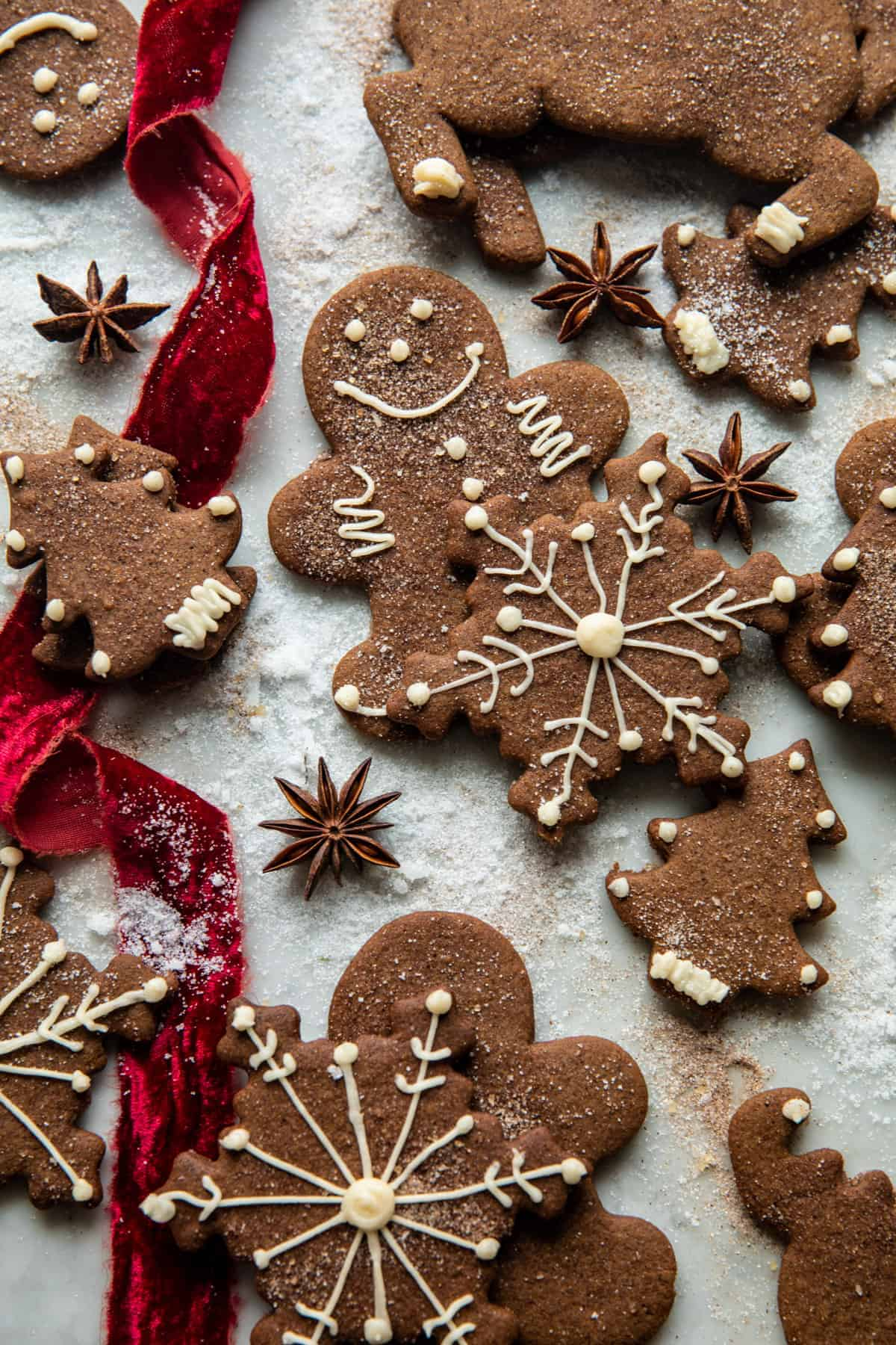 Chai Gingerbread Cookies Half Baked Harvest