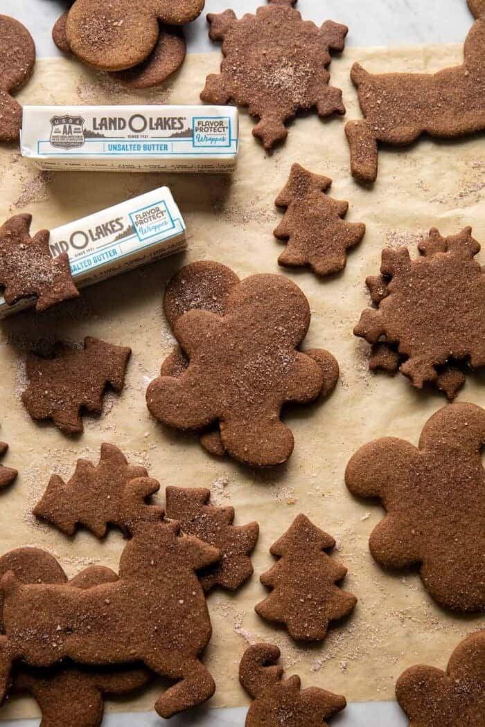Chai Gingerbread Cookies | halfbakedharvest.com