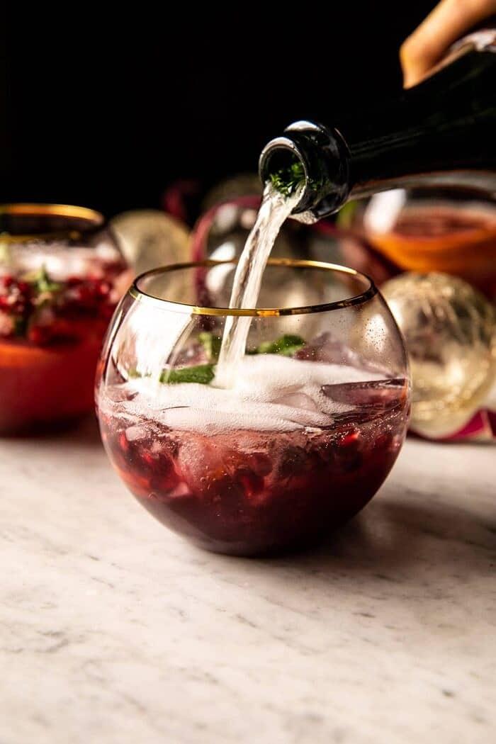 prep photo of Citrus Pomegranate Champagne Twist