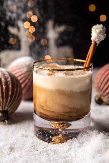 Creamy Coconut White Russian.