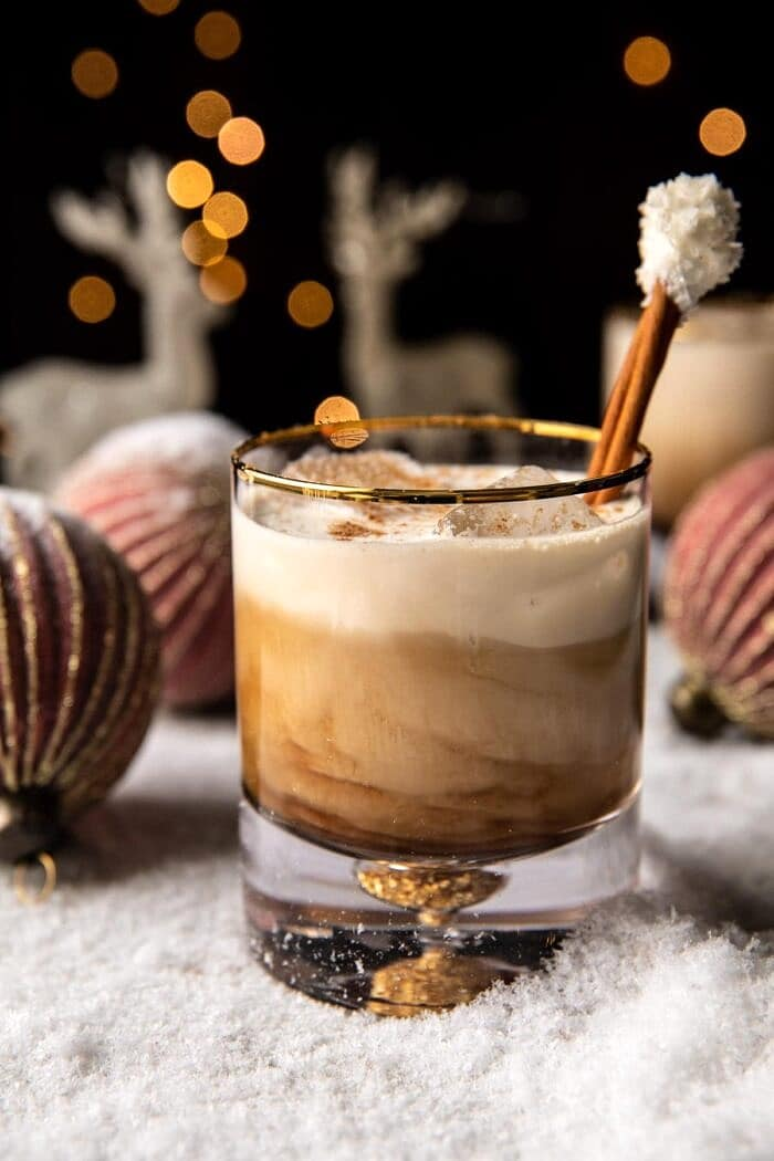 side angled photo of Creamy Coconut White Russian