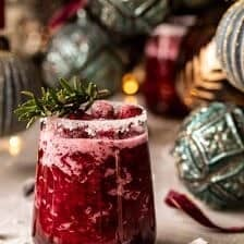 Frosted Mistletoe Margarita.