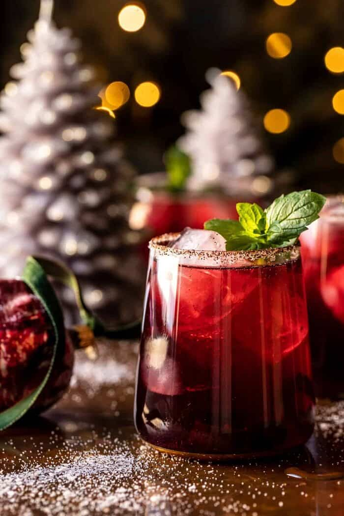 The Sweet and Spicy Cheermeister Cocktail | halfbakedharvest.com