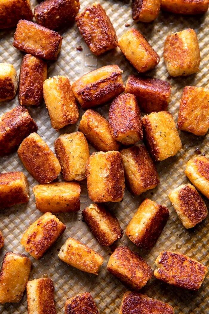 Crispy Baked Parmesan Tater Tots | halfbakedharvest.com