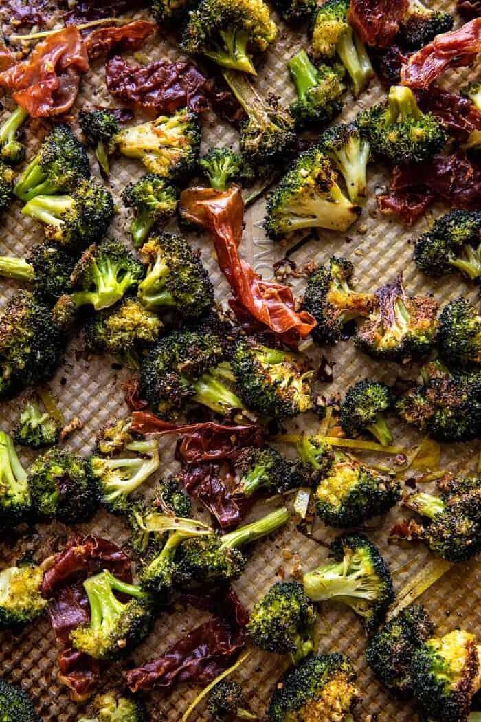 prep photo of Roasted Broccoli and Prosciutto