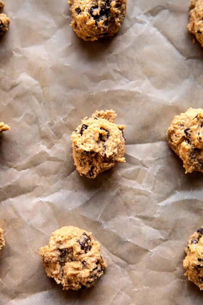 prep photo of cookies before baking