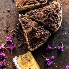 Vanilla Tiramisu Cake.