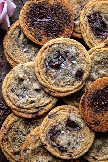 Brown ButterMalted Chocolate Chunk Cookies.
