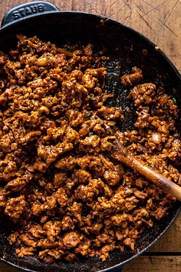 prep photo of taco meat