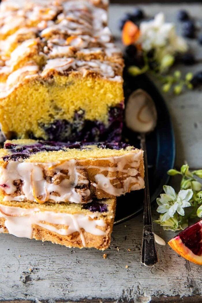 Earl Grey Blueberry Lemon Cake | halfbakedharvest.com