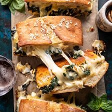 Party Size Spanakopita Melt.