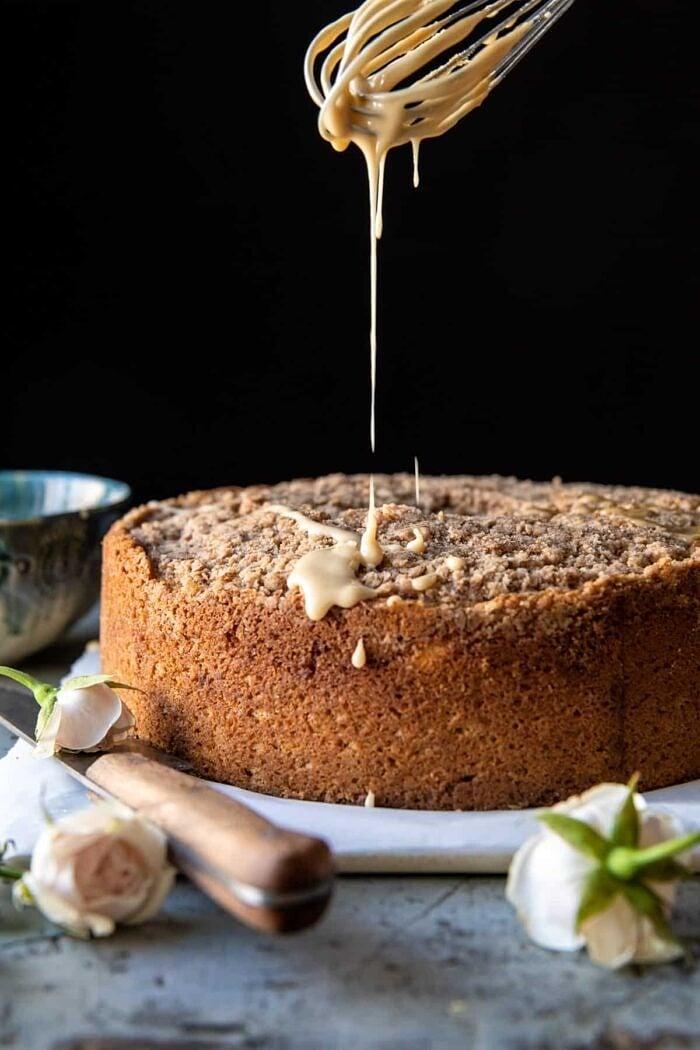 Cinnamon Streusel Coffee Coffee Cake | halfbakedharvest.com