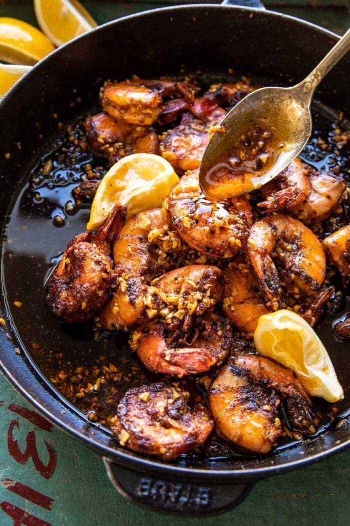 Lemon Garlic Butter Shrimp Special | halfbakedharvest.com