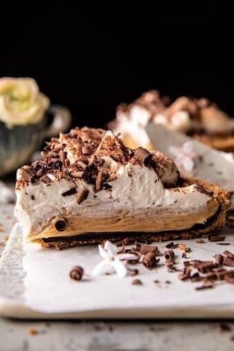 Vintage Chocolate Peanut Butter Pie | halfbakedharvest.com